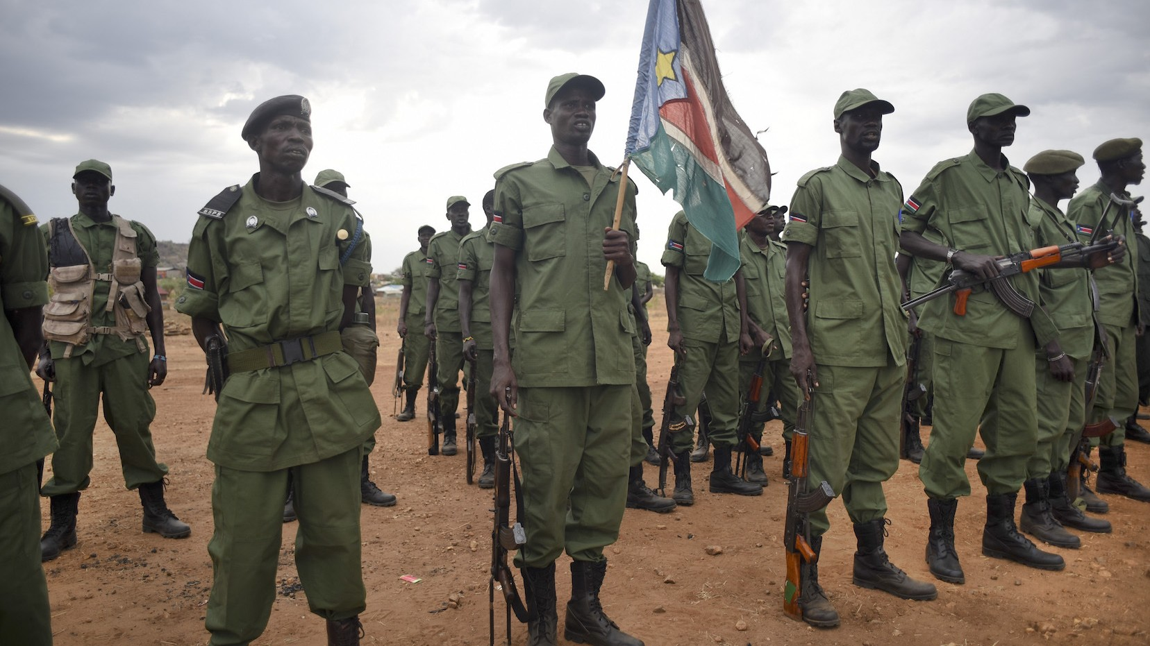 South Sudan Rebel Leader Riek Machar Sworn in as Vice President After Two Years of War