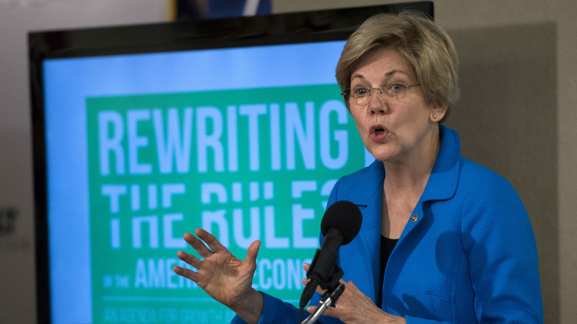 Sanders and Clinton Campaigns Both Name Drop Elizabeth Warren for Veep