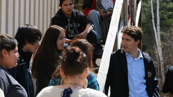 Justin Trudeau: 'We Have Discriminated Against Indigenous Children for Generations'