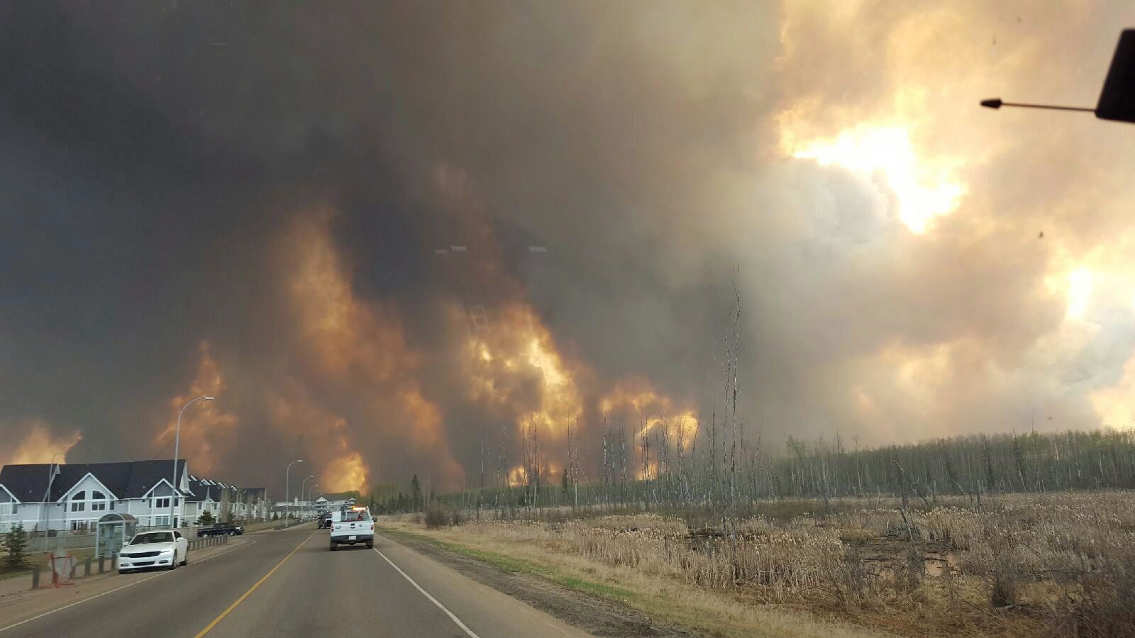 Canada Sends Military Aircraft to Stop the Spread of Massive Alberta Wildfires