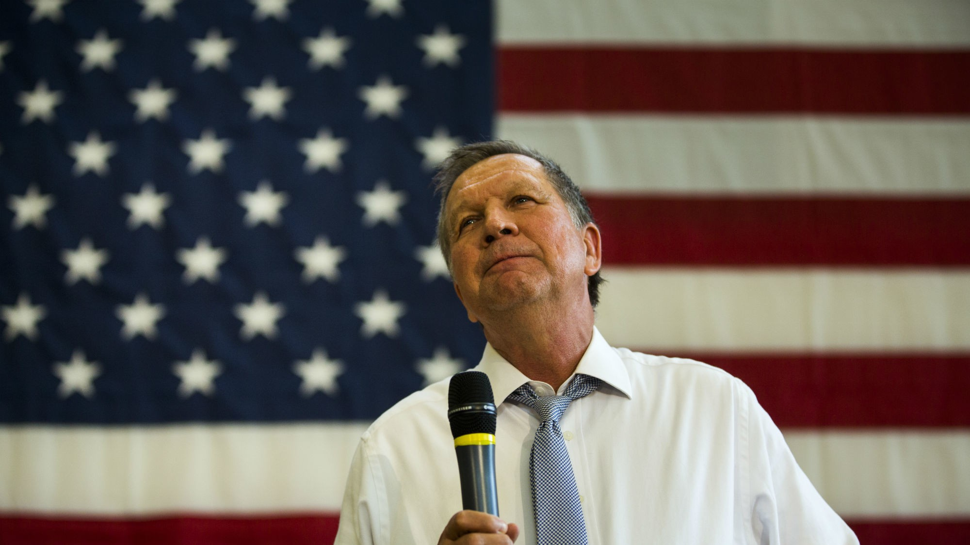 Emotional John Kasich Ends His Presidential Campaign