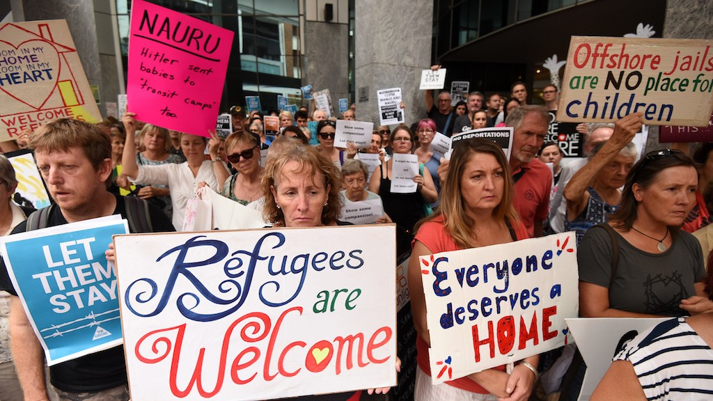 Australia Admits Wrongfully Accusing Charity of Inciting Refugees' Self Harm — As It Accuses Others