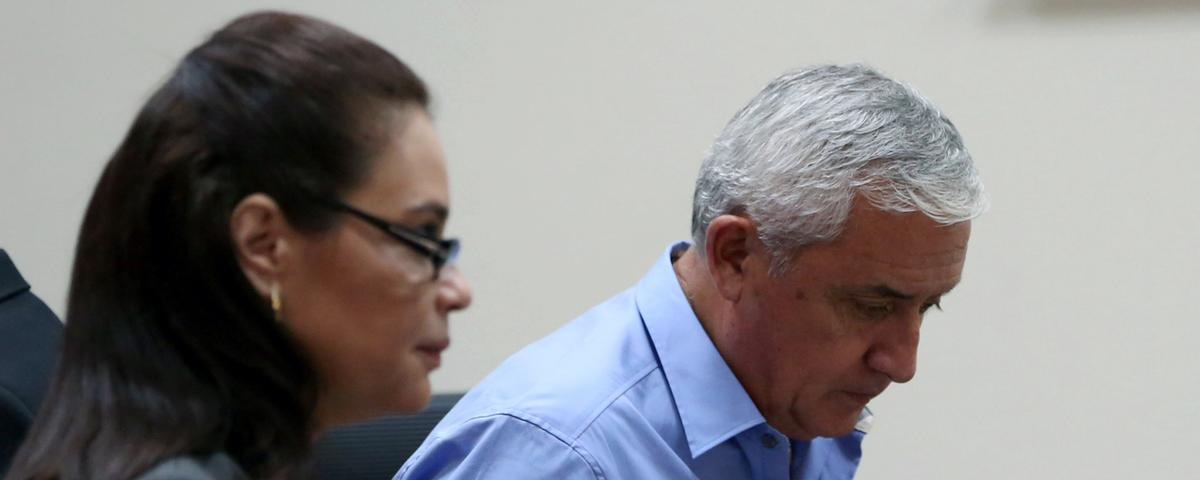 New Charges: Guatemala's Imprisoned Ex-President Allegedly Received Millions in Bribes