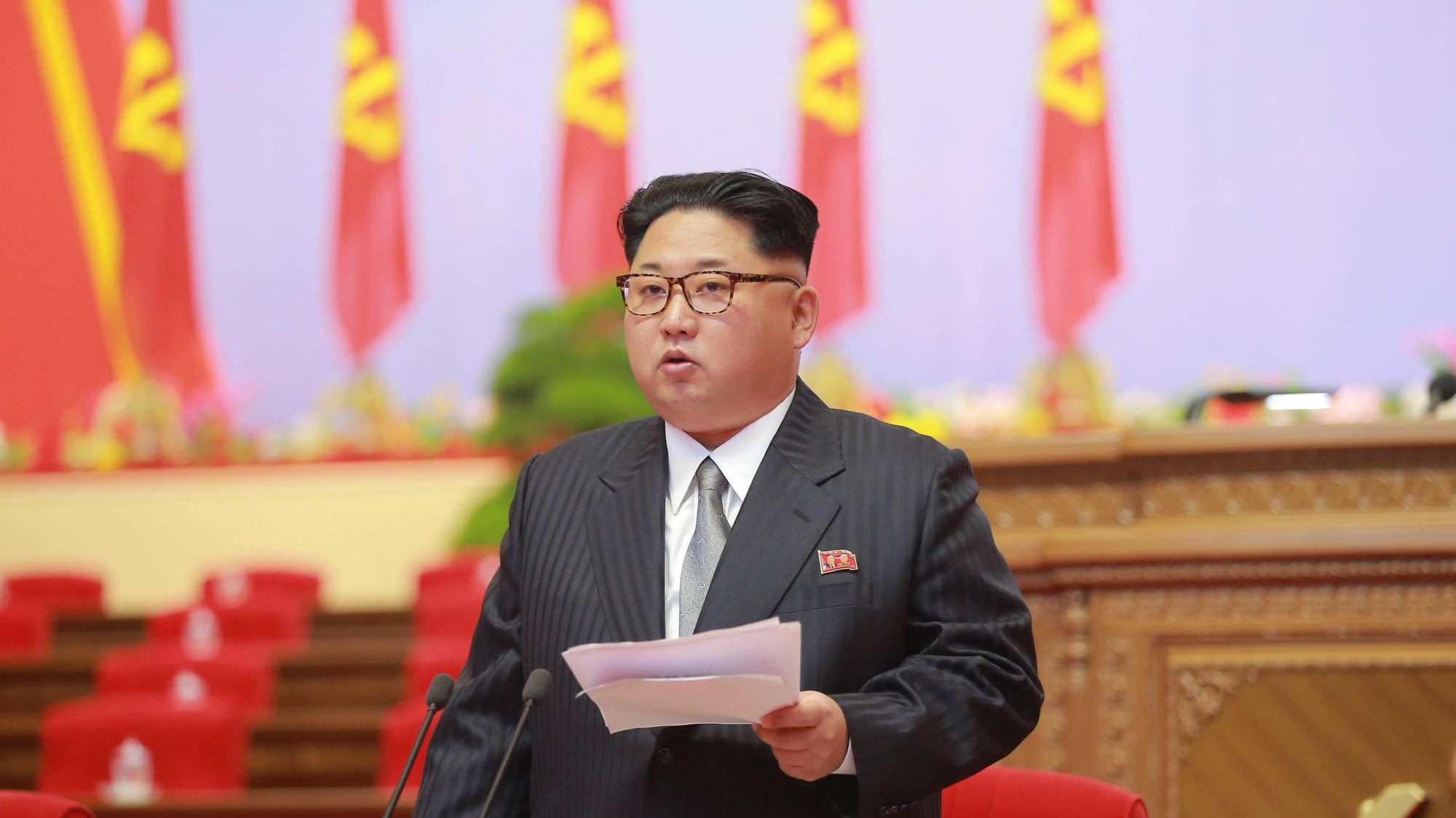 North Korea's Kim Jong-un Celebrates Nuclear Tests, Consolidates Power at Party Congress