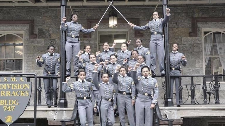 Black Female Cadets Under Investigation for 'Raised Fist' Picture at West Point