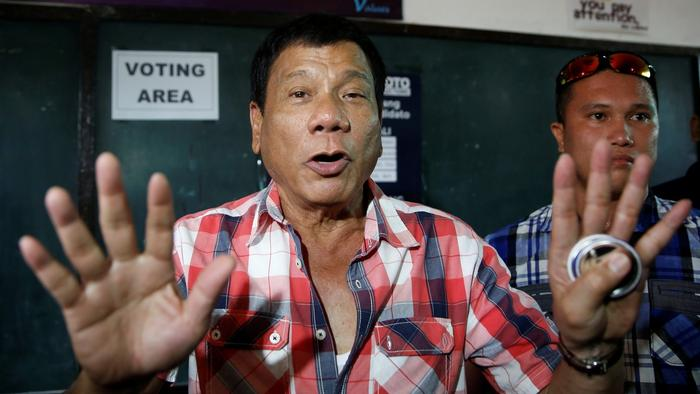 Mayor Jokes About Rape, Brags About Death Squads, Gets Elected President of the Philippines
