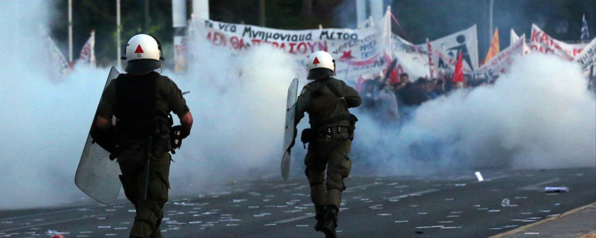 Greece Hopes For Another Massive Bailout After Violent Street Protests