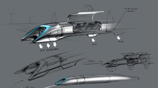 French Rail Company Invests in Elon Musk's Near-Supersonic, Levitating Train of the Future