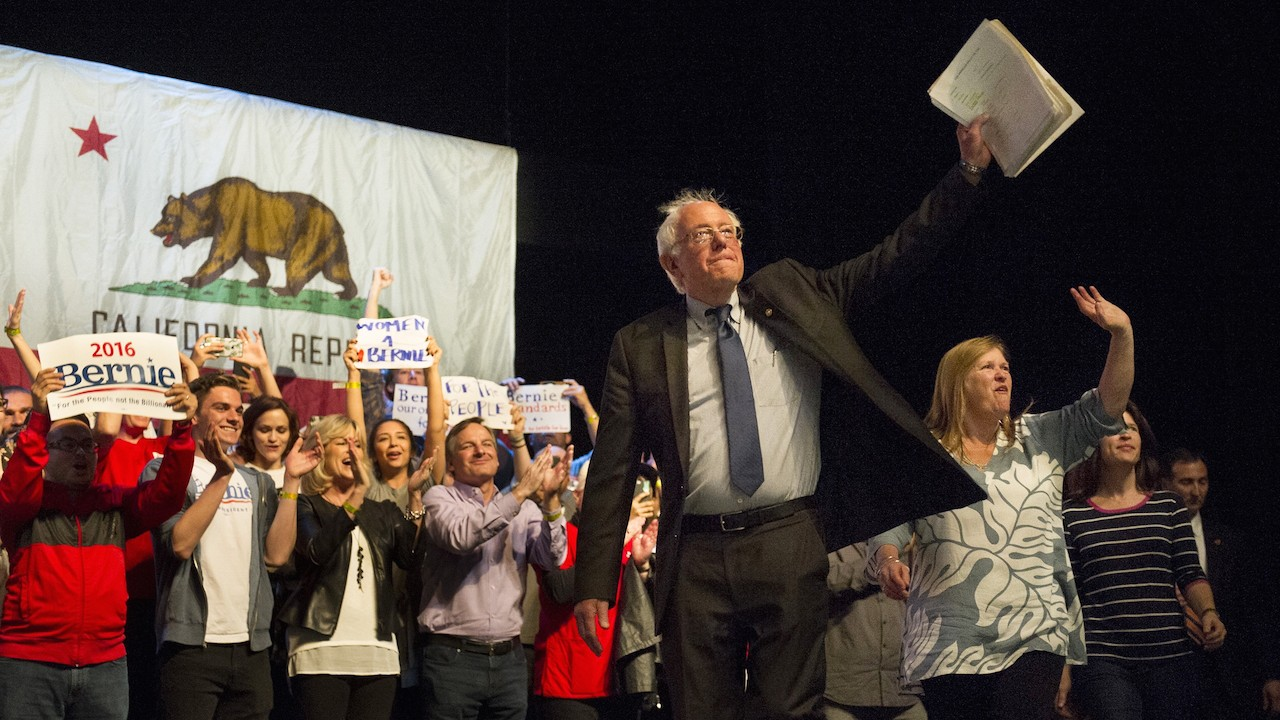 Sanders' Top California Staffer Exits Before the Most Important Remaining Primary
