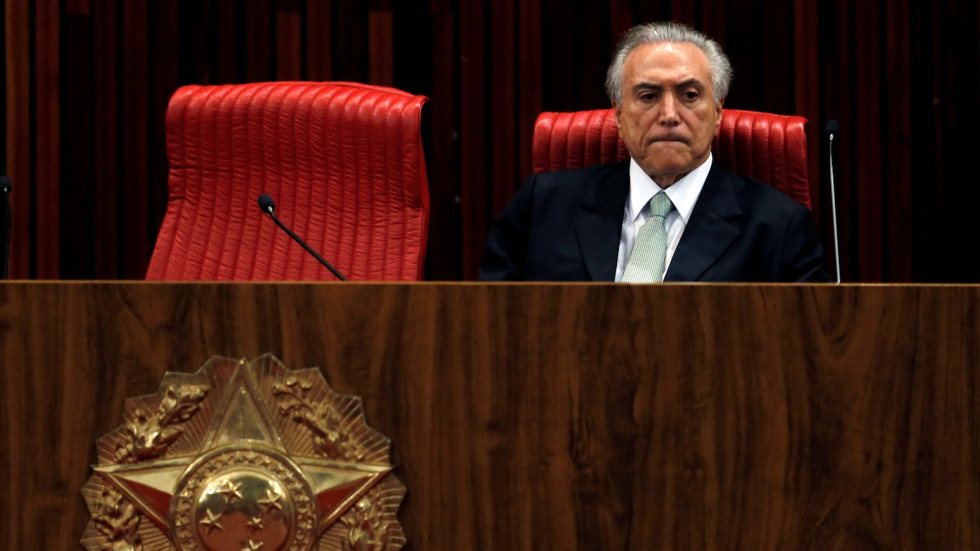 Savior or Villain? A New Leader Steps Into the Scandal-Plagued Brazilian Presidency