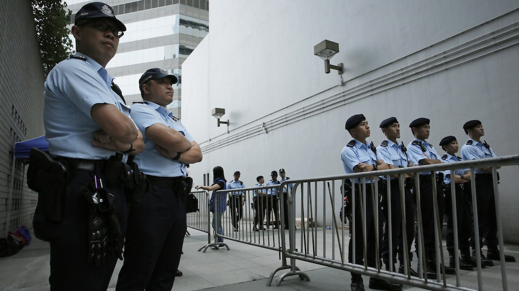 Massive Security Operation Underway in Hong Kong as China's No. 3 Pays a Visit