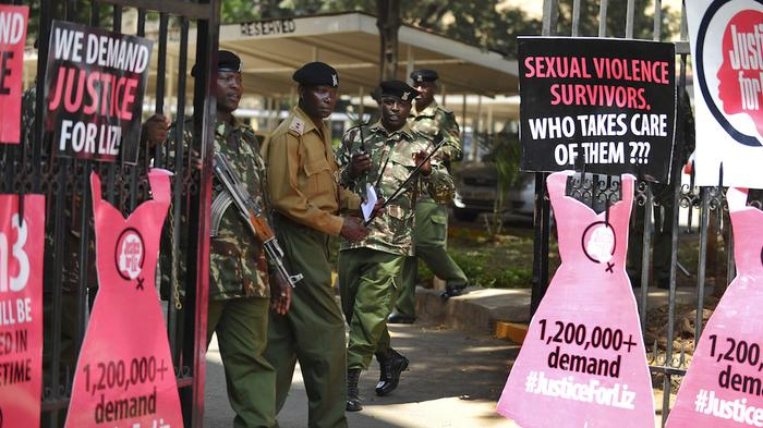 'They Always Protect One of Their Own': Police and Rape in Kenya