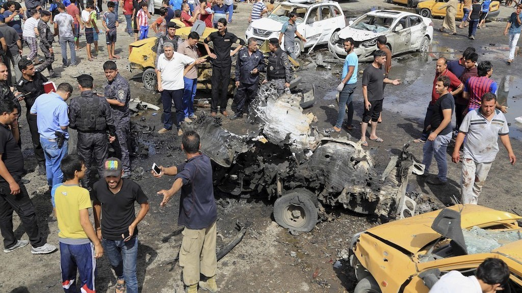 More Than 60 Dead in Triple Baghdad Bombings