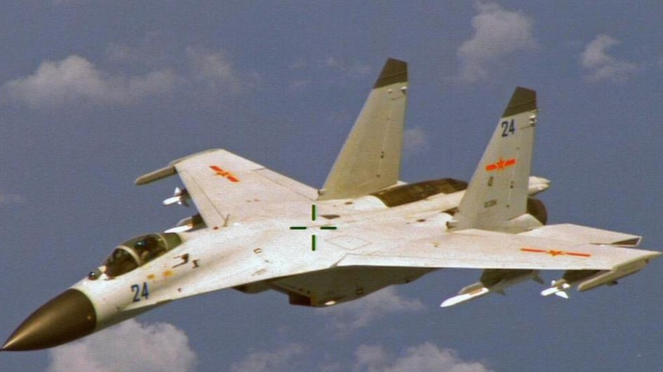 Two Chinese Fighter Jets Intercepted a US Navy Plane Over the South China Sea