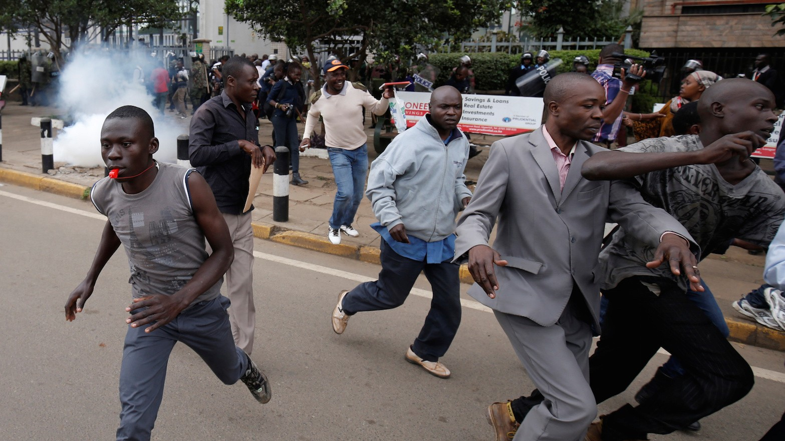 Three Reported Dead After Protesters in Kenya Clash With Police in Dispute Over Election