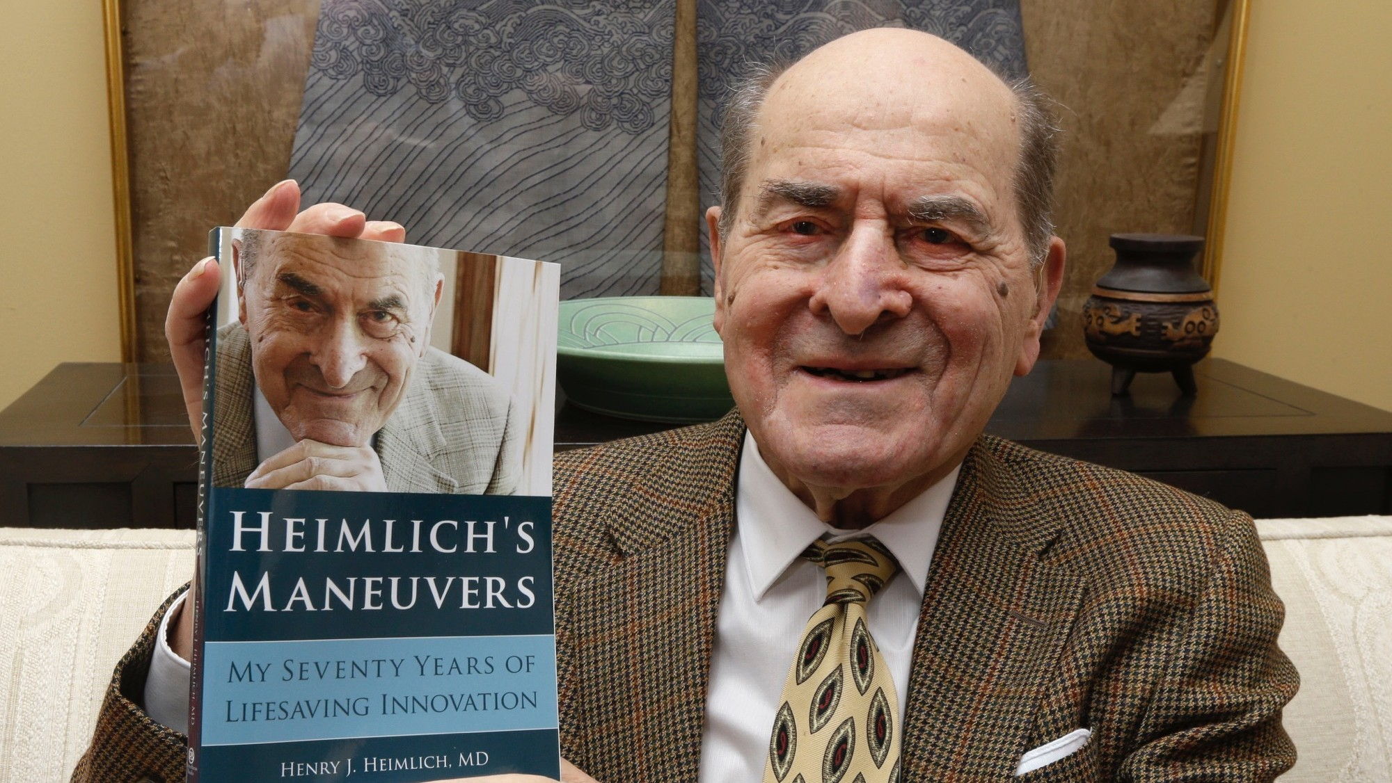 96-Year-Old Dr. Henry Heimlich Saved a Choking Woman With His Own Maneuver