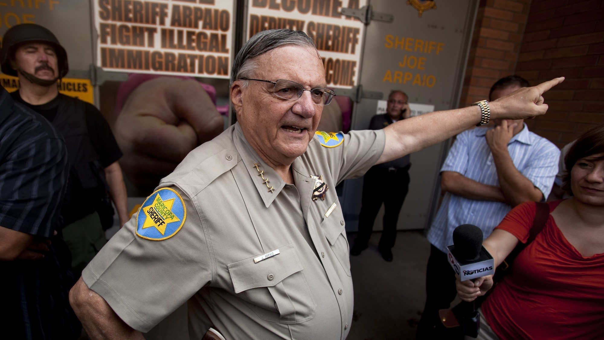 Fed-Up Judge Threatens 'America's Toughest Sheriff' Over Continued Racial Profiling
