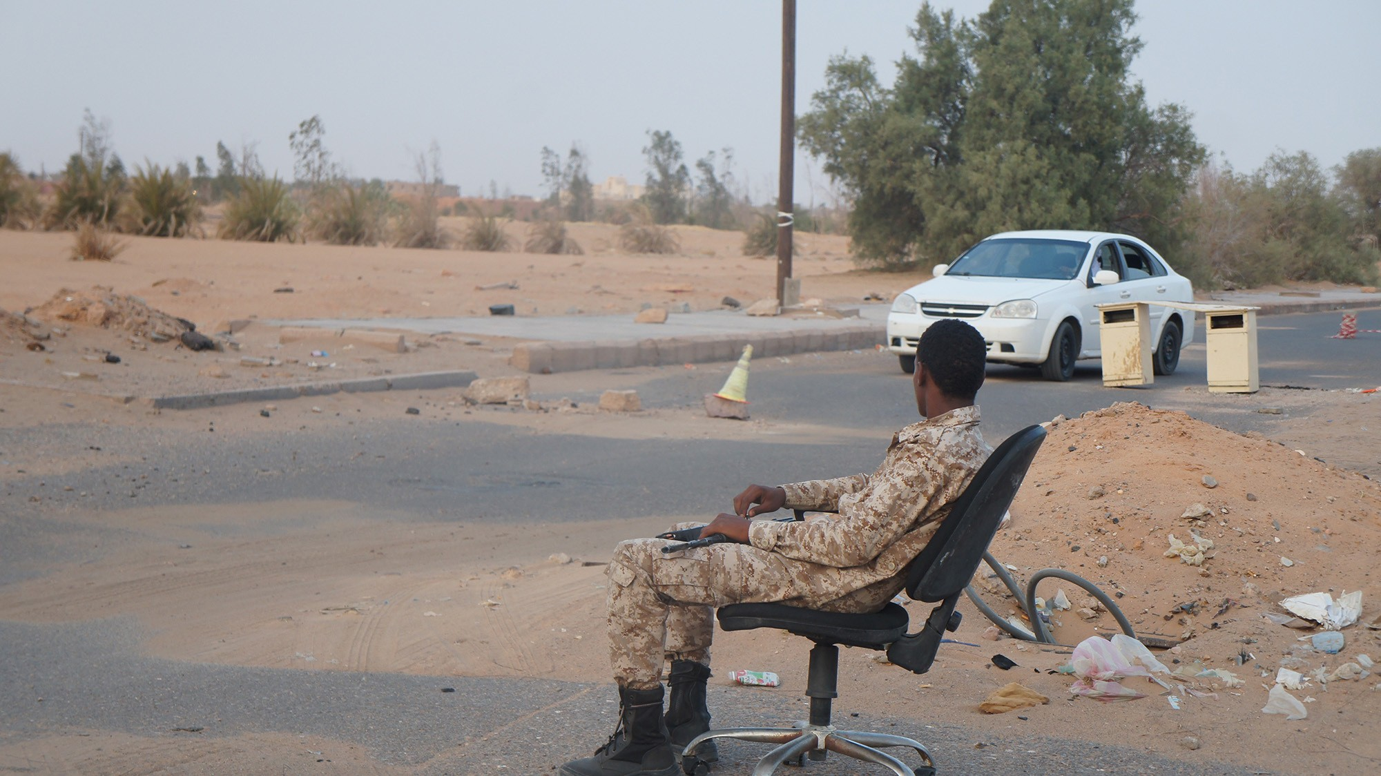 Heavily Armed and With No Economy, This Town Is Libya in a Nutshell