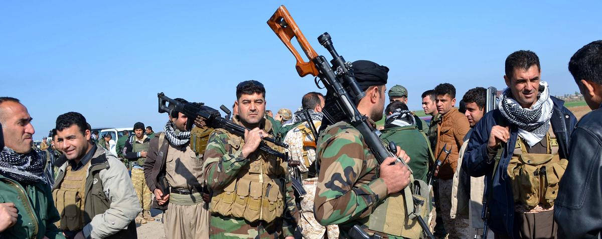 Kurds Fighting the Islamic State Are Trying to Navigate Between the US and Iran