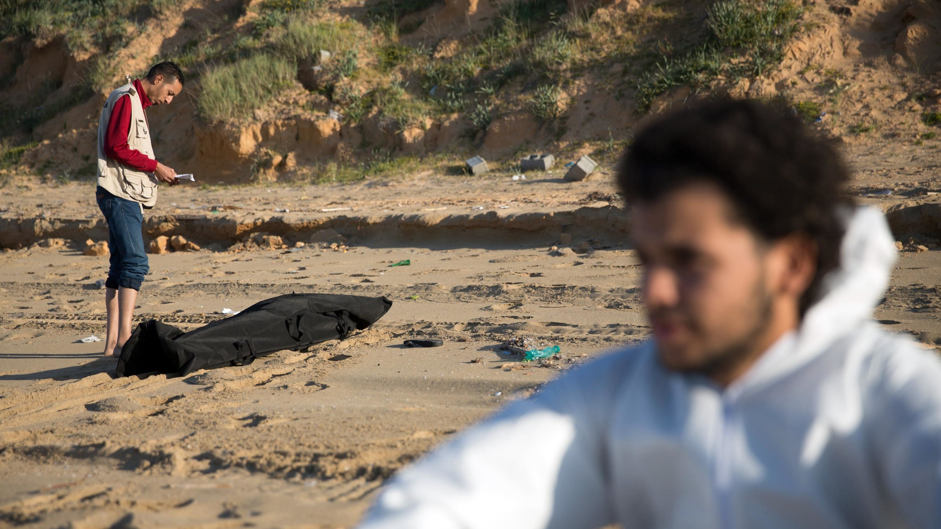 The Bodies of 133 Drowned Migrants Have Washed Ashore in Libya