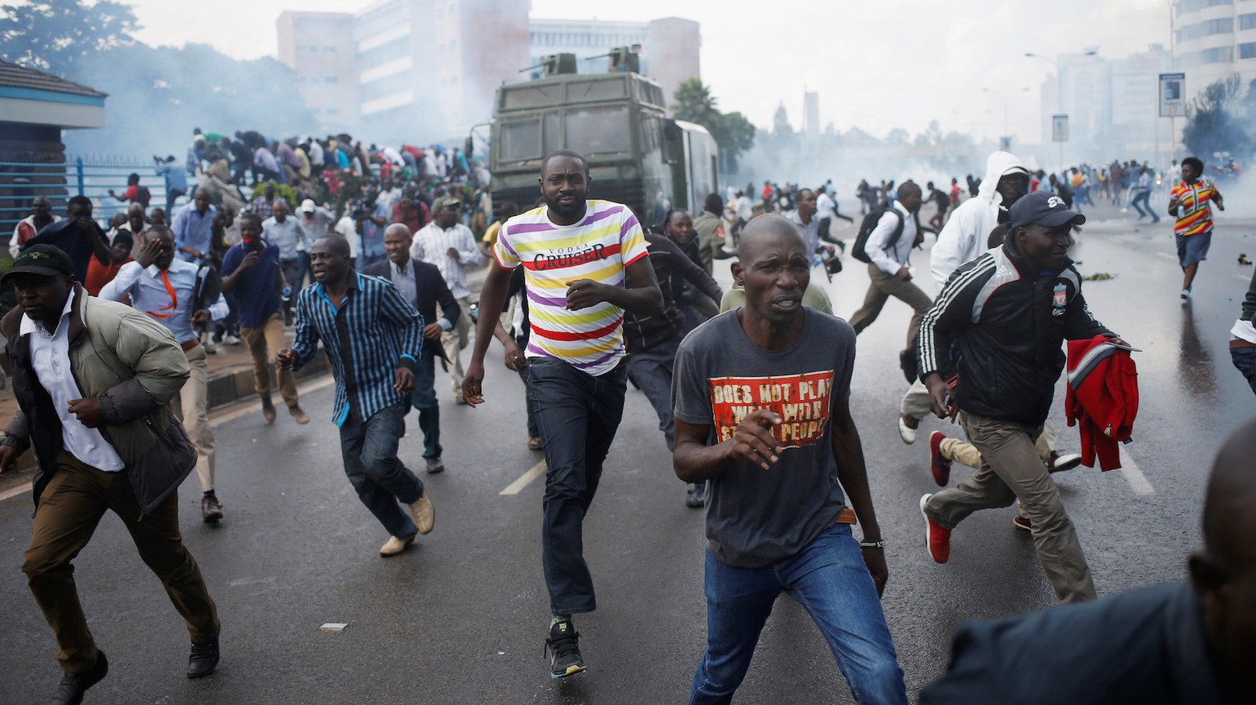 Clashes Between Police and Protesters in Kenya Turn Deadly During 'Day of Rage' Demonstrations