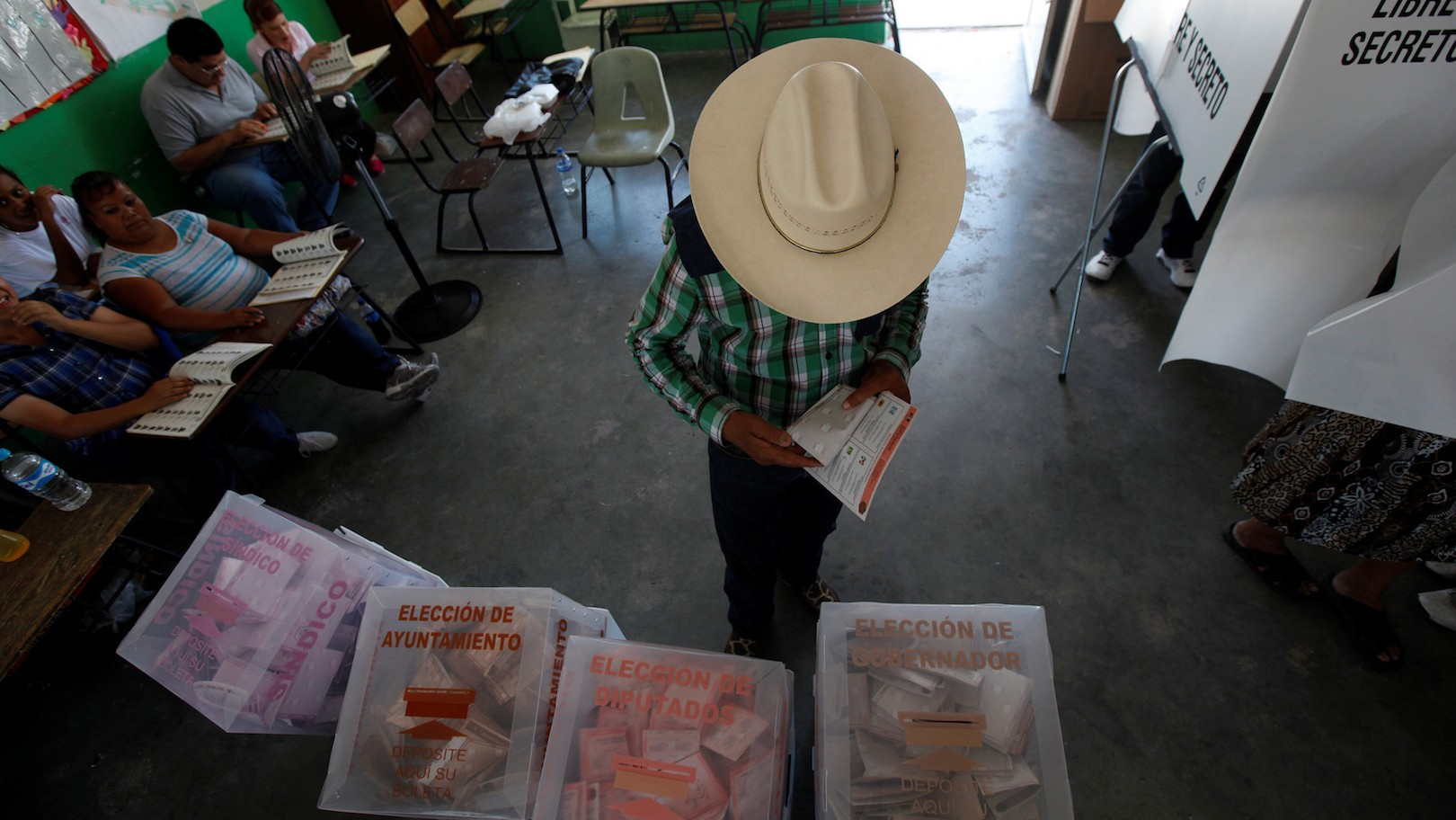 Mexico's Ruling Party Just Had a Very Bad Election Day