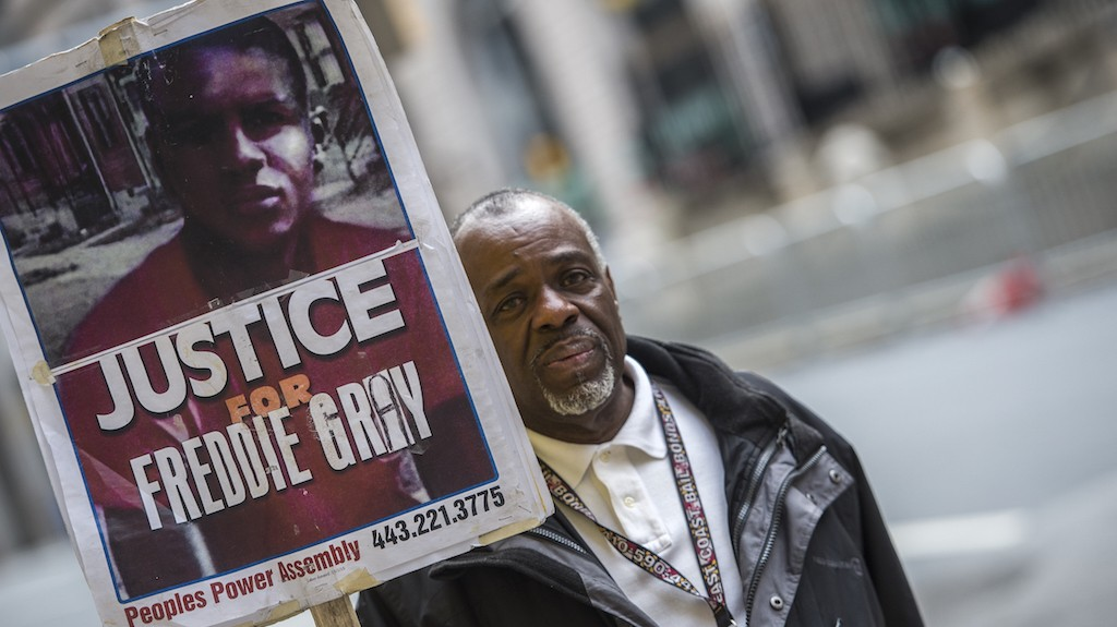 Trial Begins For Baltimore Cop Accused in Killing of Freddie Gray