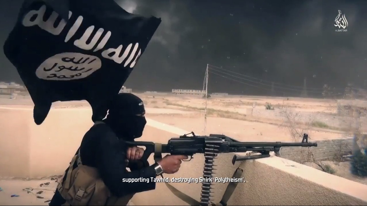 Someone is spreading fake copies of the Islamic State's magazine