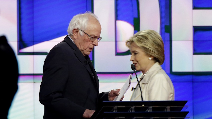 Bernie Sanders and Hillary Clinton Talk Truce After She Wins Final Primary