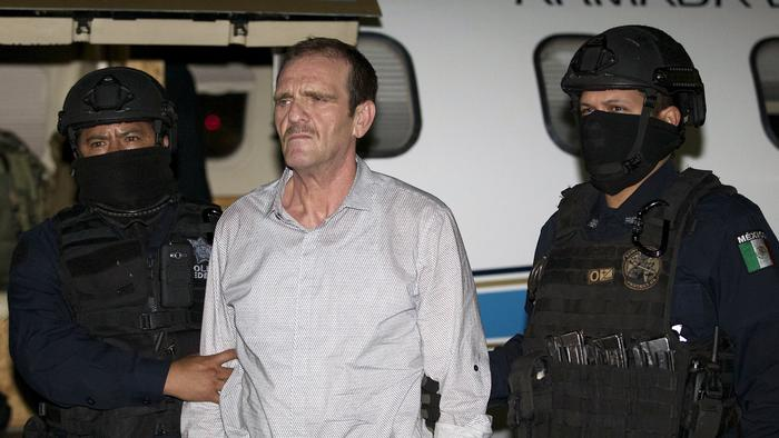 Veteran drug boss 'El Güero' Palma back in a Mexican jail after his release from a US prison