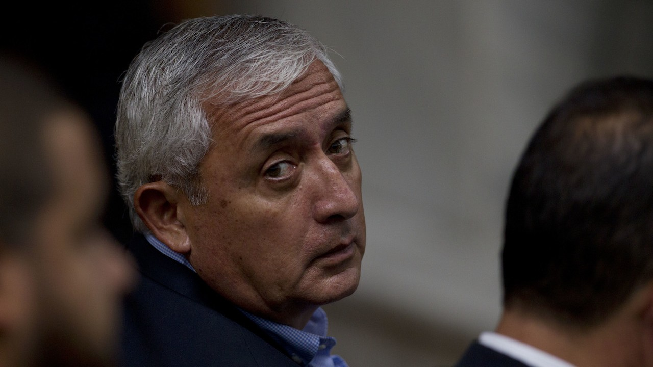 Guatemala's former president Pérez Molina faces new charges of massive corruption