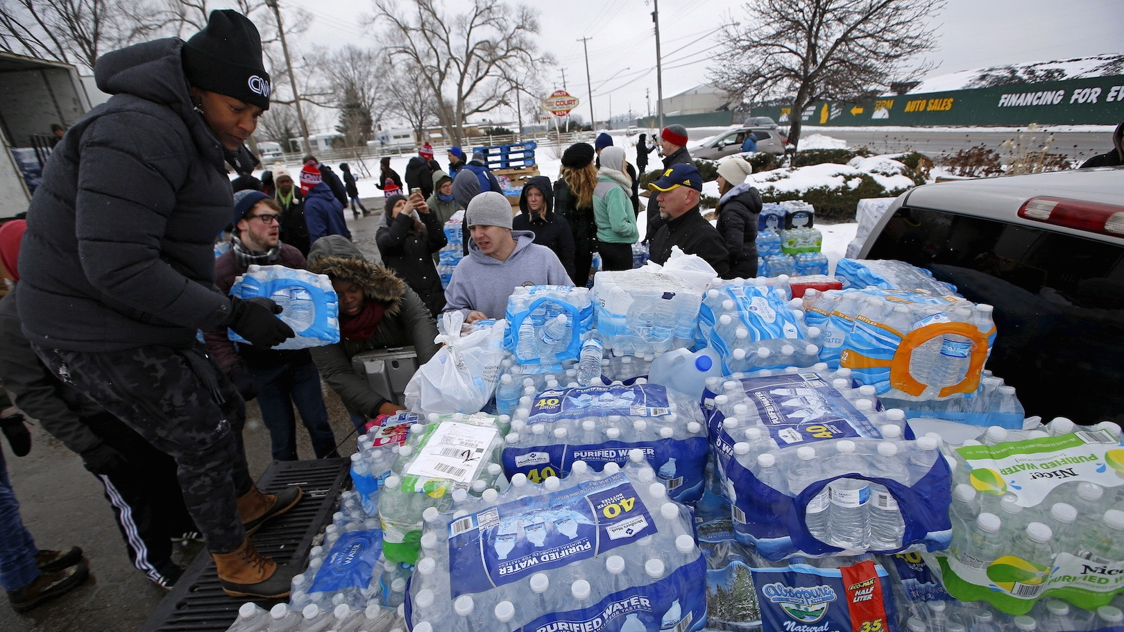 Michigan attorney general sues companies linked to Flint water crisis