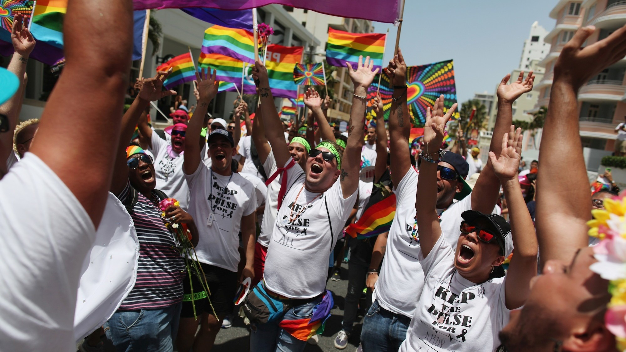 In photos: Pride celebrations around the world after Orlando