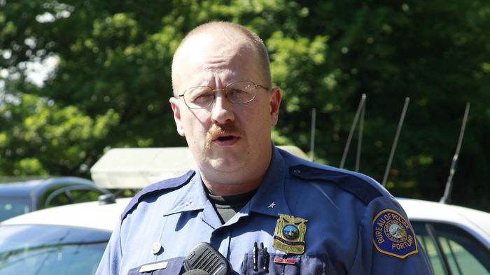 Portland police chief resigns after lying about shooting his friend in the back