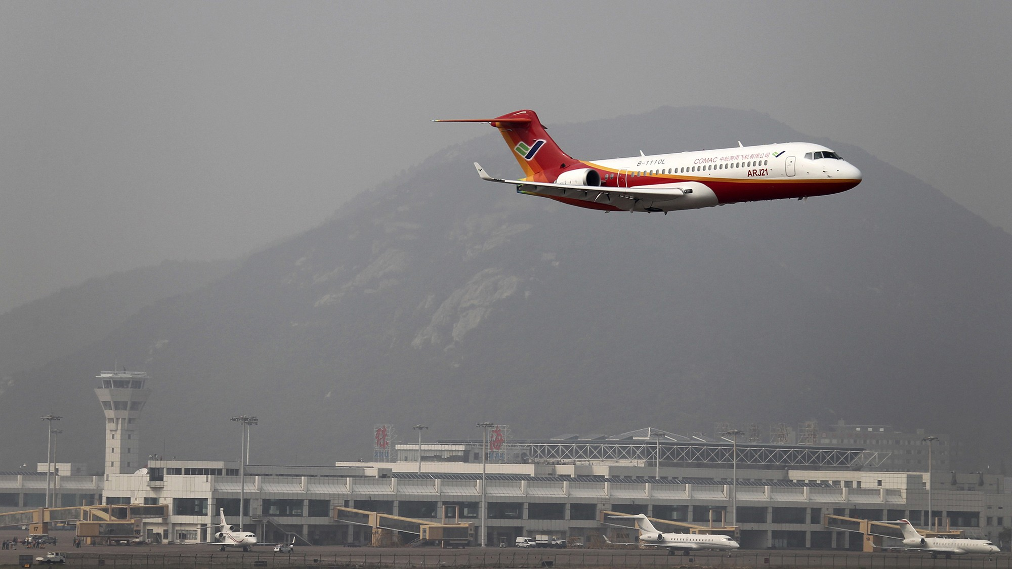 China just flew its first passenger jet — and it's a clunker