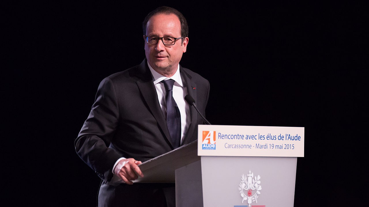 The president of France says if Brexit won, so can Donald Trump