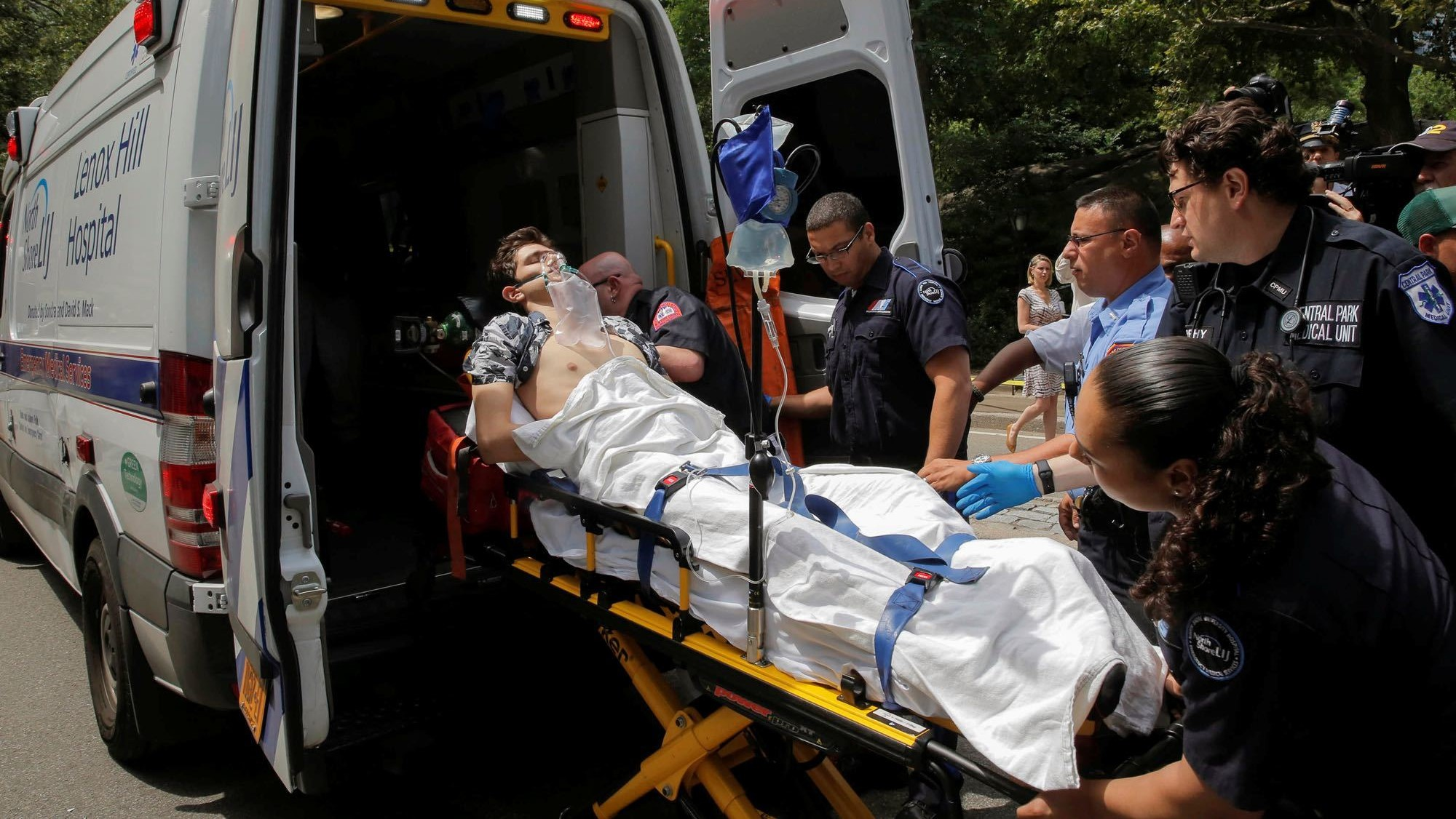 Blast severs tourist's foot in Central Park explosion