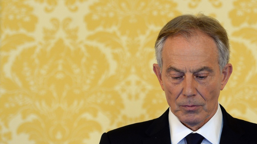 'He's bad; we're good' —Tony Blair's notes to George Bush on Iraq war revealed