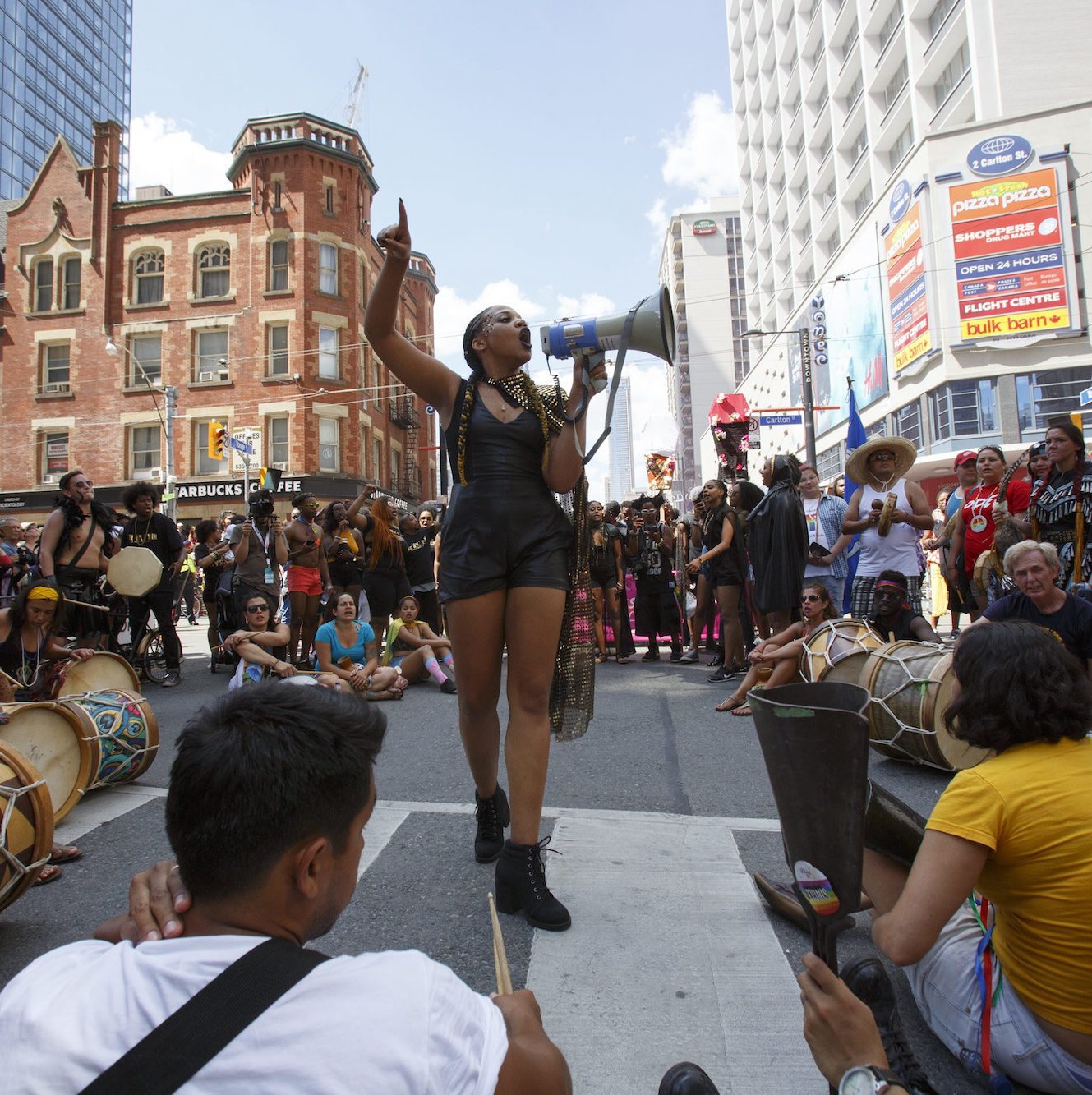 A Pride protest thrusts Black Lives Matter into the spotlight in Canada