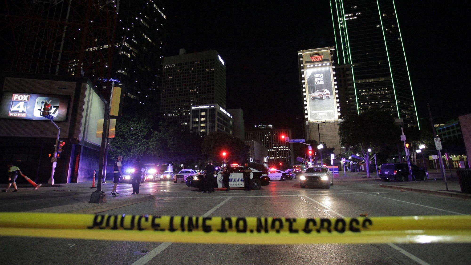 'I did not think I would make it home': Witnesses describe the Dallas ambush
