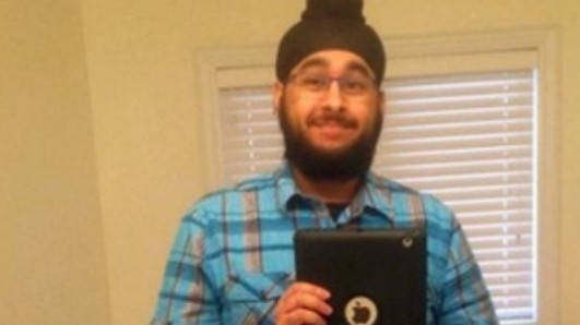 A Sikh man is being wrongfully blamed for a major terror attack for the third time