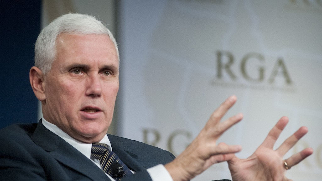 Indiana Governor Mike Pence is officially Donald Trump's running mate