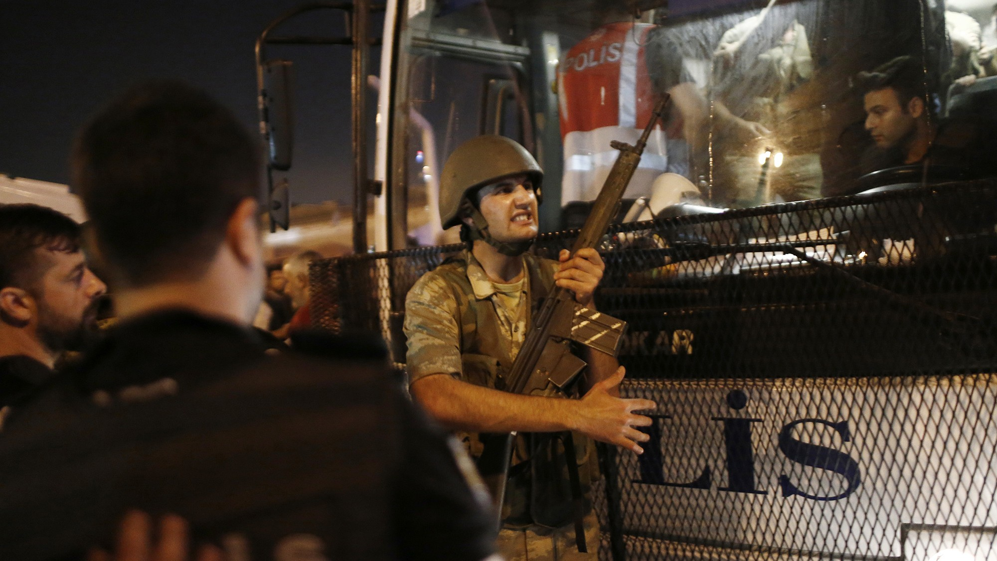 Turkey's government went on an arrest spree after the attempted coup