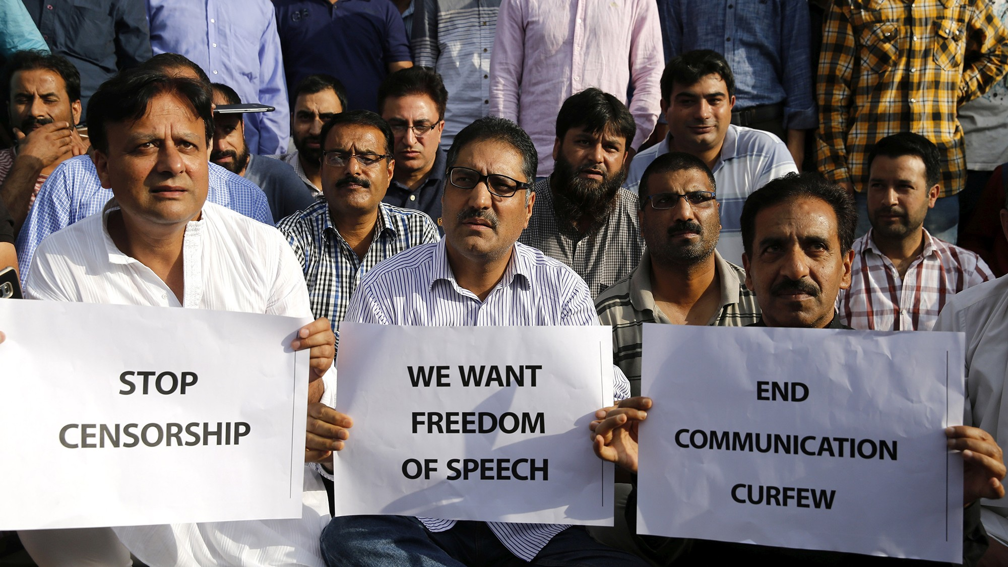 The Indian government shut down media in Kashmir as tensions rise