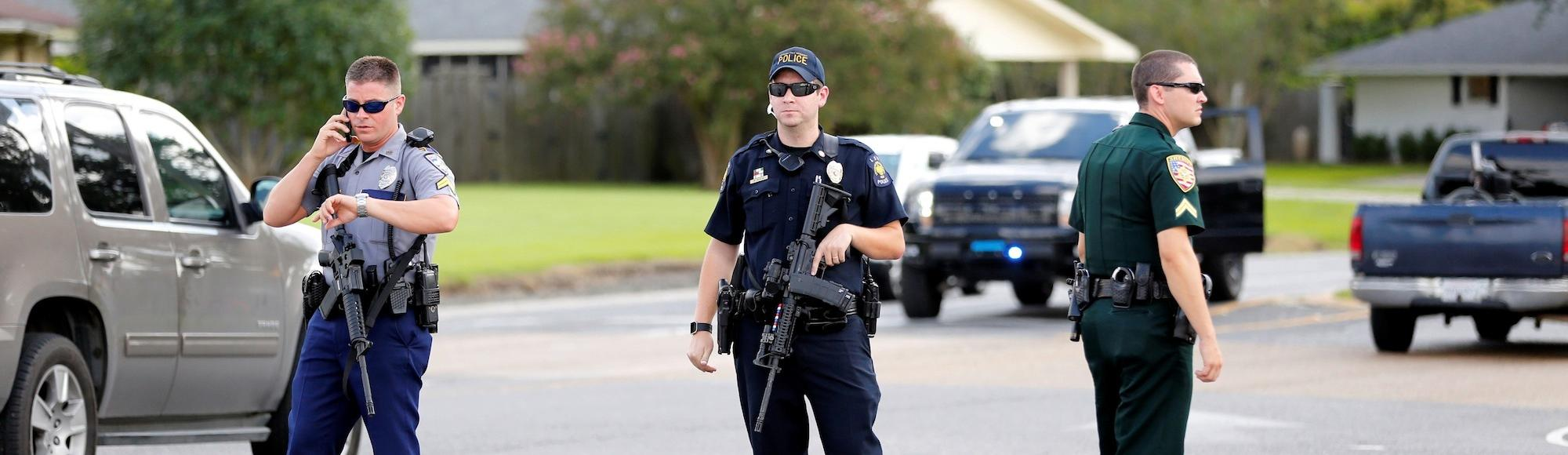 Three police officers are dead after a shooting in Baton Rouge