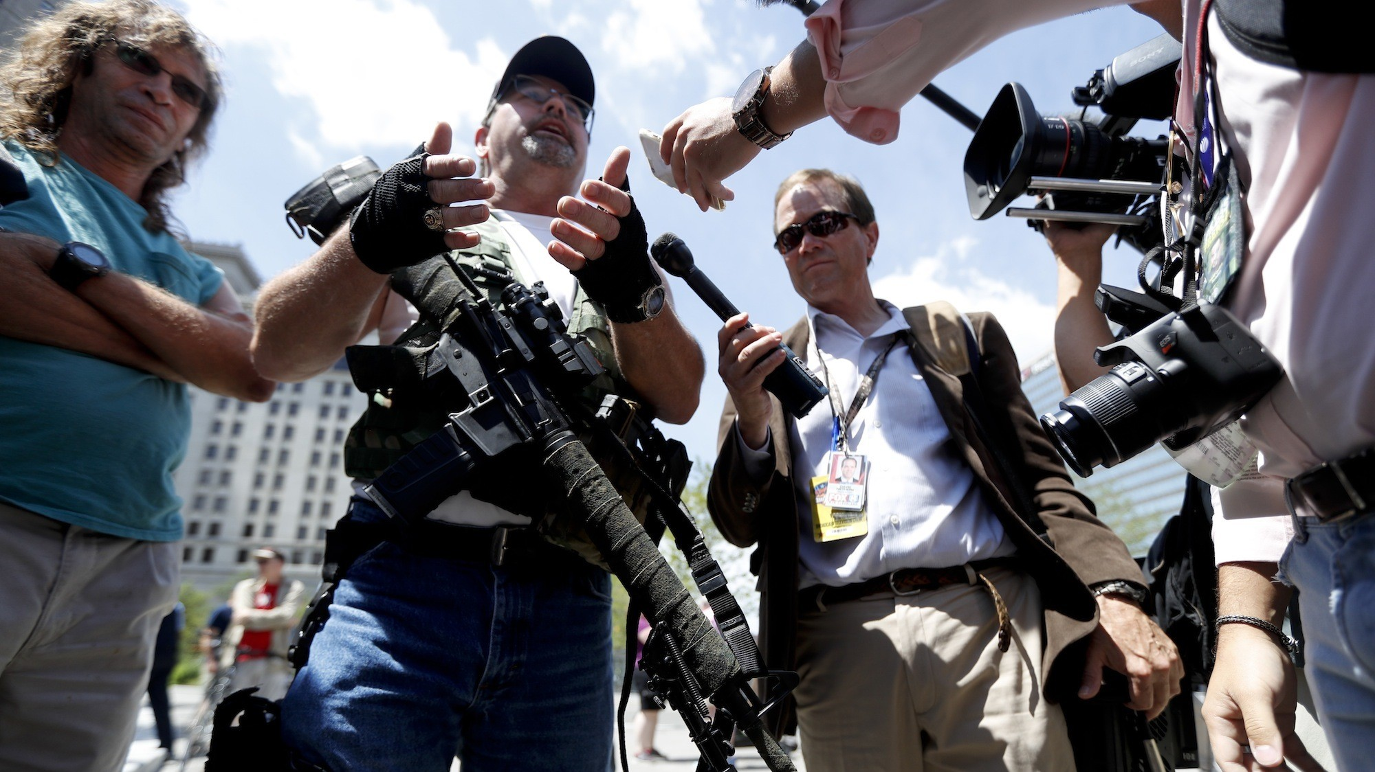 Ohio's open-carry gun law comes under fire ahead of GOP convention