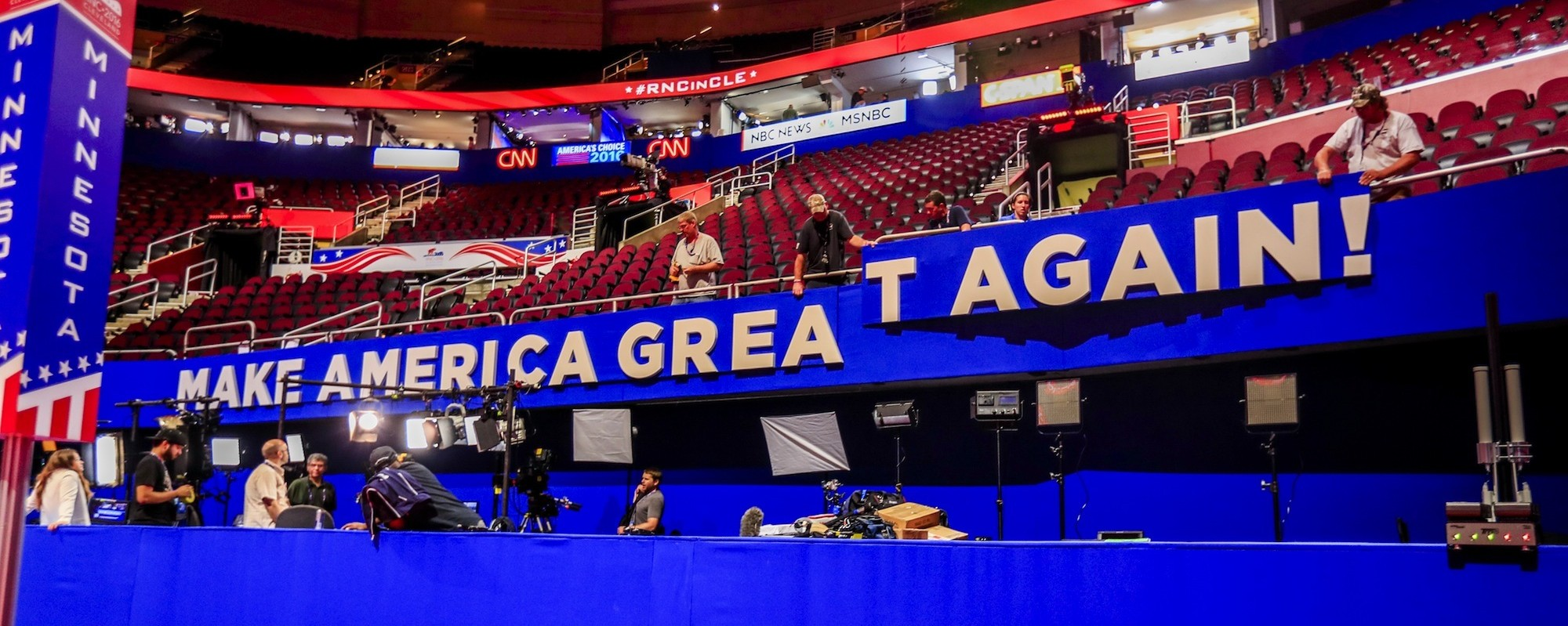 The Republican convention just kicked off in Cleveland — and anything could happen