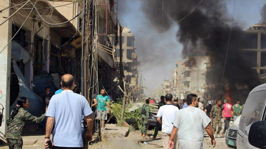Islamic State claims bombing that killed nearly 50 people in Syria's Kurdish region