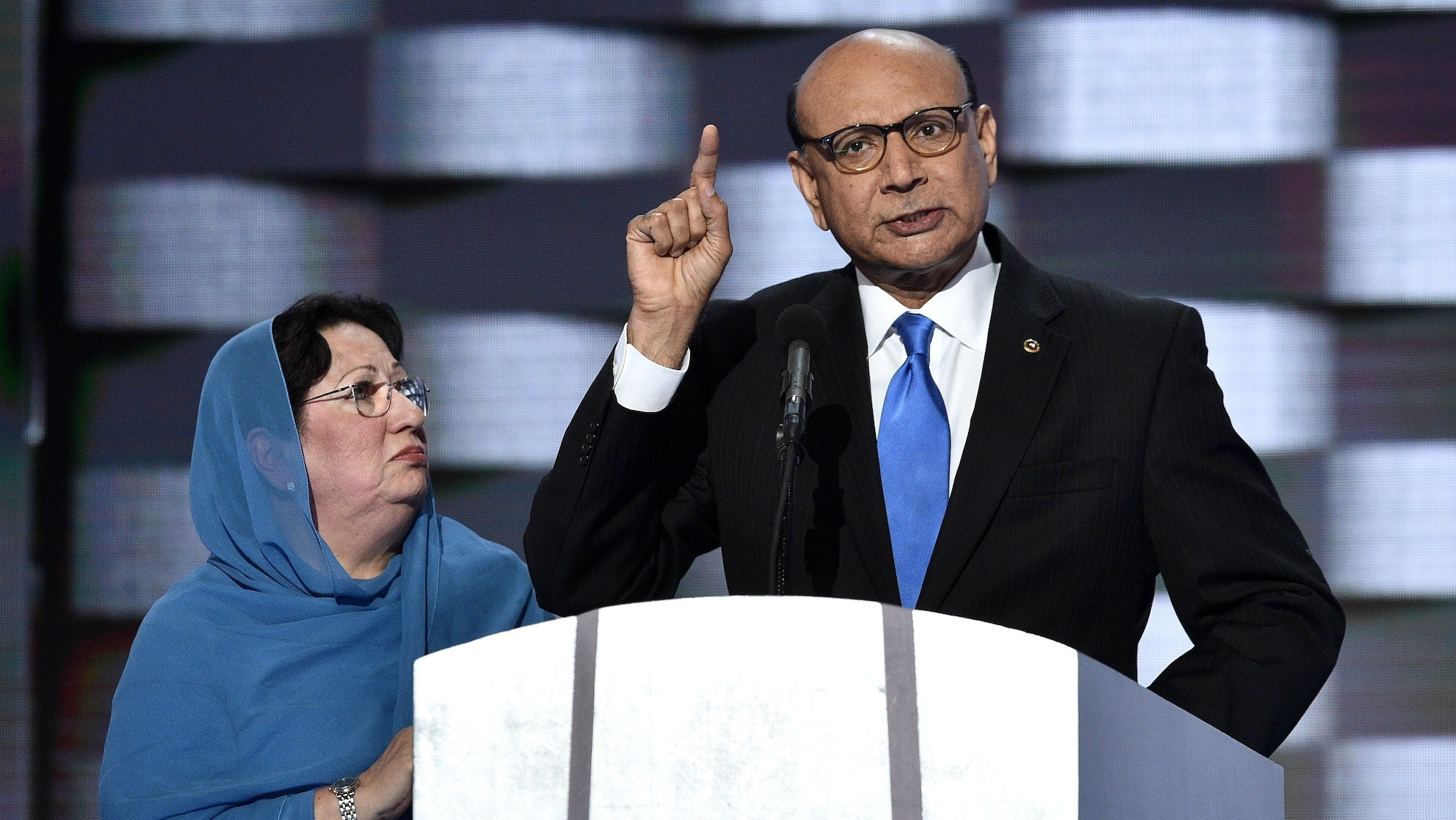 Trump says 'I've made a lot of sacrifices' in response to Muslim father of slain US soldier