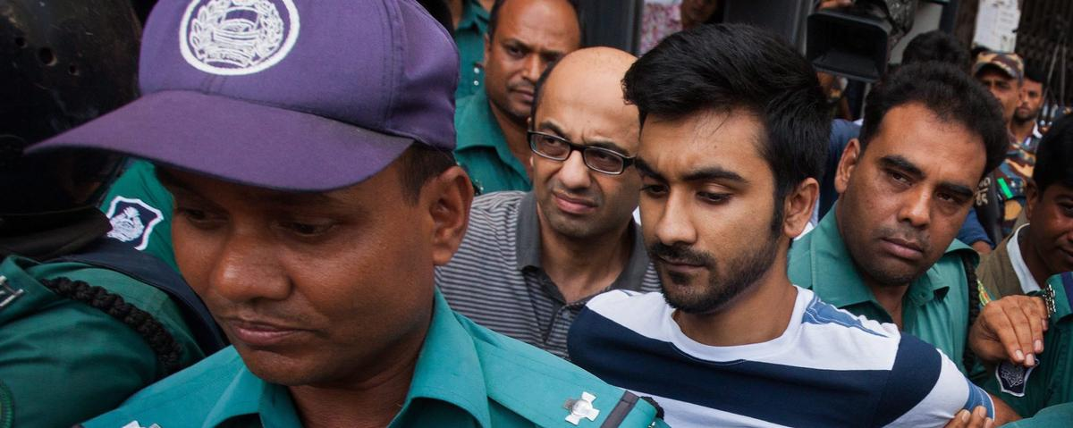 British professor and Canadian university student arrested over terror attack in Bangladesh